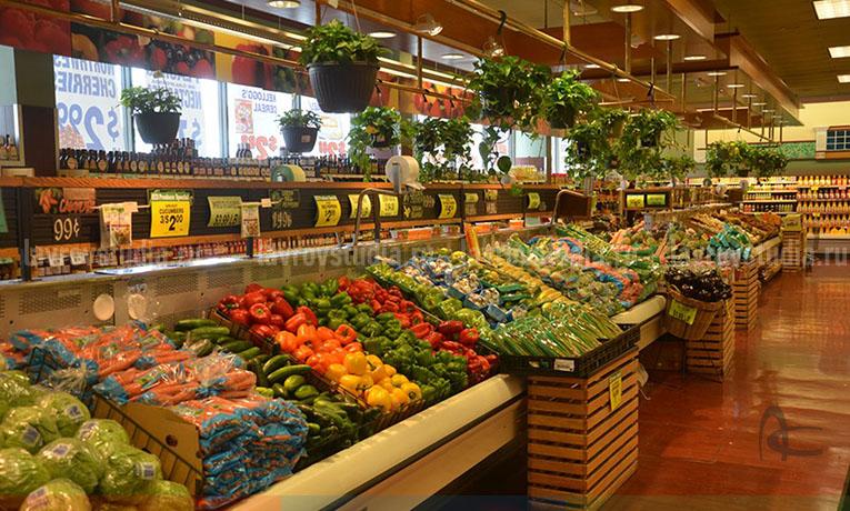 Оформление магазина продукты