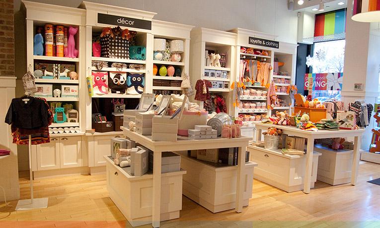 Оформление магазина домашних товаров