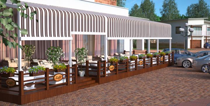 Дизайн и строительство летней веранды